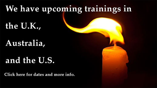 Upcoming training in UK, Australia, & US